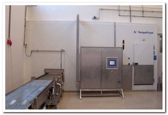 Used, complete CFS/GEA TempoFrost spiral freezer, year 2004
