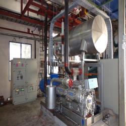 1.industrial used ammonia Sabroe ice water installation