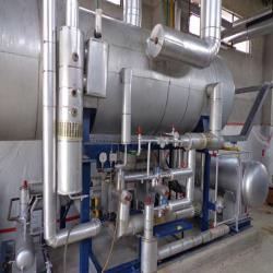2.Used, complete Heinen and GEA Eurotek spiral freezers with matching ammonia freeze-pump installations