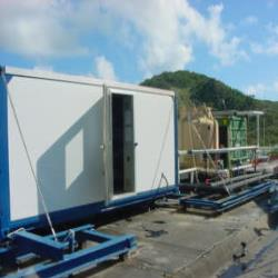 3.Waterc hiller for the cooling of a hotel on St. Maarten, the Netherlands Antilles.