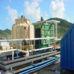 5.Waterc hiller for the cooling of a hotel on St. Maarten, the Netherlands Antilles.