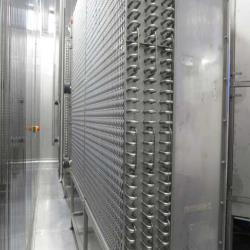 1.Used Kälte-Fedder type KF2X22-508/2300 Twin/double spiral freezer