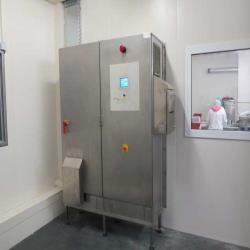 4.Used Kälte-Fedder type KF2X22-508/2300 Twin/double spiral freezer