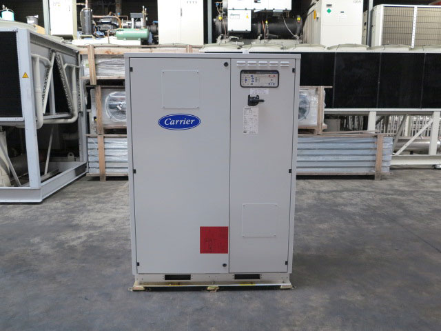 used chillers air chiller water cooled chillers cooled chillers rh comronusedfreezers com Carrier ManualsOnline Carrier Air Conditioning Manuals