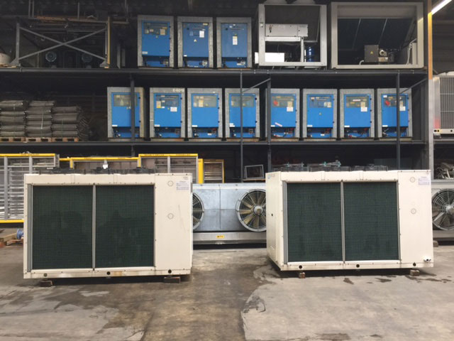 Used Chillers, Air Chiller, Water-Cooled Chillers, Cooled Chillers